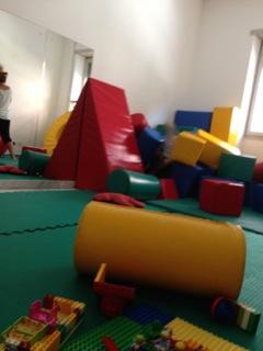 La stanza di psicomotricità